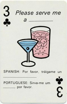 translation playing cards
