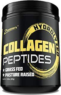 Premium Hydrolyzed Collagen Peptides 21oz Best Value Non Gmo Grass Fed Gluten Free Pasture Raise Collagen Supplements Hydrolyzed Collagen Collagen Powder