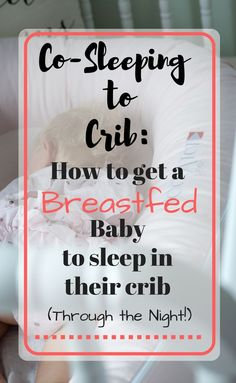 how to sleep train your breastfed baby