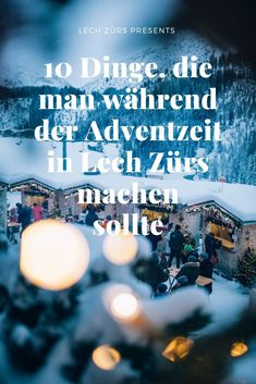 10 Things to do during Christmas season in Lech Zürs - Lech Zürs