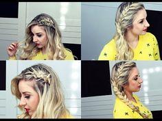 Penteados Fáceis com Trança por Priscila Barbosa