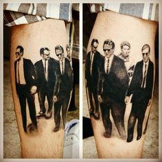 Oww, Reservoir Dogs from @HangTheDJason