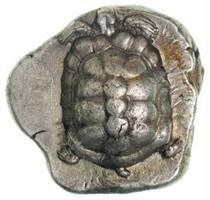 Aeginitian tortoise - obverse