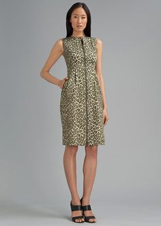 Senegal Cheetah Print Misti Dress