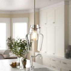 Birch Lane: Farmhouse & Traditional Furniture - Made to Last Drum Pendant, Lantern Pendant, Pendant Lighting, Light Pendant, Brushed Nickel Pendant Lights, Crystal Pendant, Contemporary Pendant Lights, Jar Lights, Hanging Lights