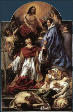 Jacob Jordaens, St. Charles Cares for the Plague Victims of Milan, 1655
