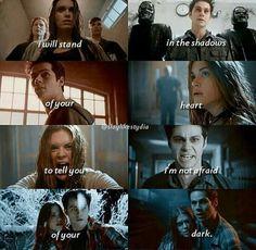 Stiles and Lydia #teenwolf tumblr #Stydia #emotionaltether #strongconnection #perfectcombination #endgame