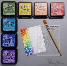 Brief Scrapbook Kits Studio Calico – shedstudio Encre Distress Ink, Tim Holtz Distress Ink, Distress Oxide Ink, Scrapbooking Technique, Scrapbooking Layouts, Digital Scrapbooking, Card Making Tips, Card Making Techniques, Studio Calico