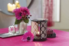 With the heat of a tealight you can experience sensory joy from exciting Forbidden Fruits fragrances. Ornate with a damask motif, the Forbidden Fragrance Warmer shimmers with a mysterious glow while spreading seductive scents wherever it is desired.