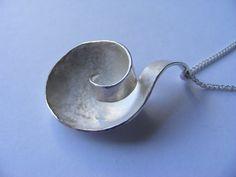 Nebula Pendant on 18'' Silver Chain. £40.00, via Etsy.