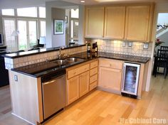 Anaheim Hills - A complete kitchen refacing project.