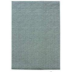 Skyline Gel Petronas - Extrafein gewebter Teppich - Rutschfest Grau 117x167