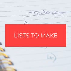 Best lists to organize your life, lists to make when bored, lists to get organized, bucket lists, chore lists, cleaning lists, to do lists, master lists, dream lists, self-care lists. Cleaning Lists, Chore List, Organize Your Life, Lists To Make, Bucket Lists, Getting Organized, Self Care, Bullet Journal, Organization