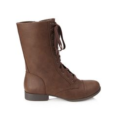 Rank & Style - Forever 21 Faux Leather Lace-Up Boots #rankandstyle