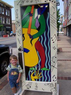 Door on display in Danville