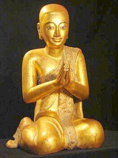 Maha Shariputra, one of Buddha's chief disciples who taught the Seven Links to Awakening.
