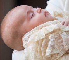 Prince Louis christened at Chapel Royal at St James's Palace