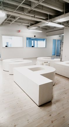 Sit on a Giant Logo of the Company. A Way to Organize the Waiting Room