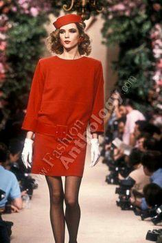 Yves Saint Laurent   Spring 1987