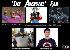 Why is there a pic of a guy dressed like batman? He's not in the avengers, let alone marvel universe!