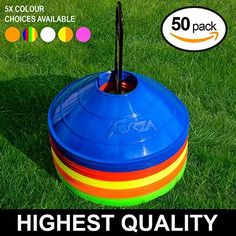 FORZA Training Marker Cones available in a range of colours. Made from high-quality plastic, the space cones can be used for a variety of training purposes. Football Equipment, Sports Equipment, Sports Training, Training Equipment, Soccer Workouts, Netball, Green And Orange, Markers, Cool Designs