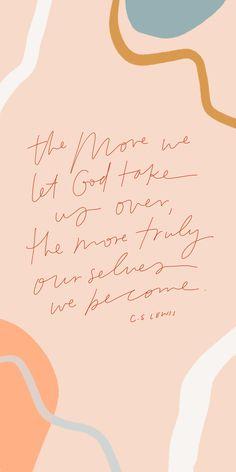 iphone wallpaper CS Lewis quotes - The Fashion Menue Bible Verses Quotes, Jesus Quotes, Faith Quotes, Scriptures, Cute Bible Verses, Motivational Bible Verses, Deep Quotes, Lyric Quotes, Movie Quotes
