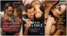 SEMPRE ROMÂNTICA!!: Lançamentos Harlequin Brasil - Maio