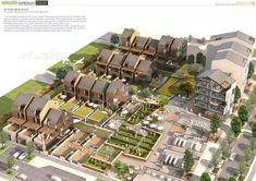 Urban Design Concept, Urban Design Plan, Sustainable Architecture, Landscape Architecture, Architecture Diagrams, Architecture Portfolio, Classical Architecture, Ancient Architecture, New Urbanism
