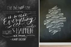 chalk boards for weddings - Google Search
