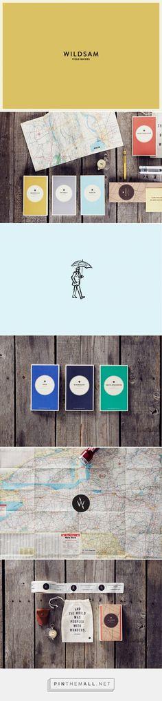 Wildsam Field Guide Branding by Stitch Design Co.