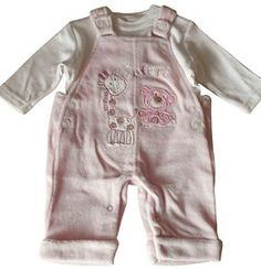 pictures of baby girl outfits with girrafs | clothing baby baby girls 0 24m dungarees