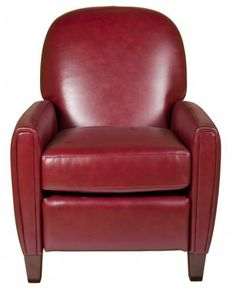 Sectional Sleeper Sofa Small leather recliner red