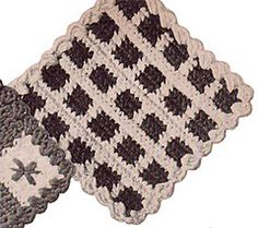 Butterfly Potholder Pattern