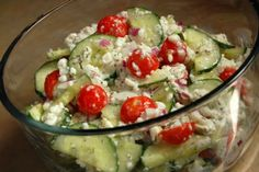 Savoury Cottage Cheese Salad Recipe by AMYMURRAYADAMS