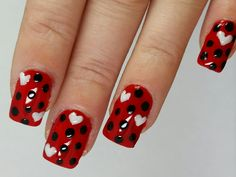 Scooby doo nail art nails pinterest scooby doo valentines nail art prinsesfo Image collections
