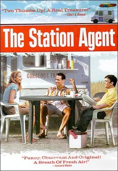 The Station Agent. Fantastic acting by Patricia Clarkson, Michelle Williams, Peter Dinklage, and Bobby Cannavale. Filmed in Rockaway NJ all up & down Green Pond Rd. Netflix Movies, Hd Movies, Movies Online, Movies And Tv Shows, Movie Tv, Movie Place, Indie Movies, New Jersey, Film Watch