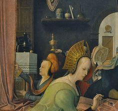 [ B ] Jan de Beer - The Birth of the Virgin (1520) - Detail | by Cea.