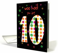 10 year old card sold to customer in  Virginia, United States