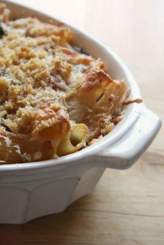Aubergine Dream - Eggplant Parmesan Pasta Bake - Crumb: A Food Blog