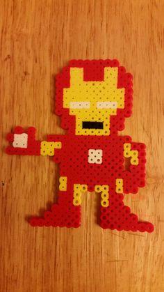 Iron+Man+Perler+by+jrfromdallas.deviantart.com+on+@DeviantArt