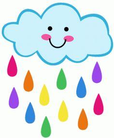 Silhouette Design Store - View Design #77258: rainbow cloud