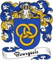 Bourgeois Coat of Arms  Bourgeois Family Crest   VIEW OUR FRENCH COAT OF ARMS / FRENCH FAMILY CREST PRODUCTS HERE