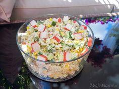 Sałatka z paluszków krabowych Guacamole, Potato Salad, Potatoes, Cooking, Ethnic Recipes, Food, Cucina, Potato, Kochen