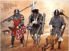 infanterie française 1340-60