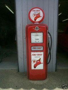 vintage gas pumps - Google Search
