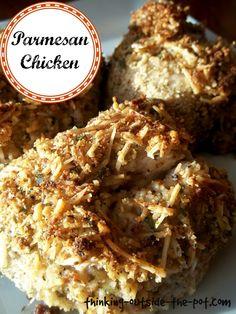 low calorie parm chicken