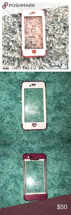 Nuud life proof for iPhone 6/6s Pink and white nuud life proof case for iPhone 6/6s. In excellent condition. Only used for 2 months and seal has only been broken once LifeProof Accessories Phone Cases