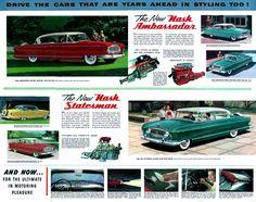 1955 Nash Ambassador and Statesman