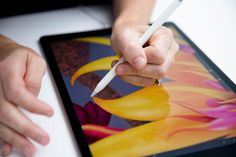 How One Very Traditional Painter Created Her First iPad Pro Art | FastCo.