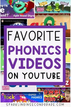 YouTube Videos for Teaching Phonics - Sparkling in Second Grade